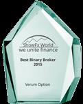 Награды компании Verum Option