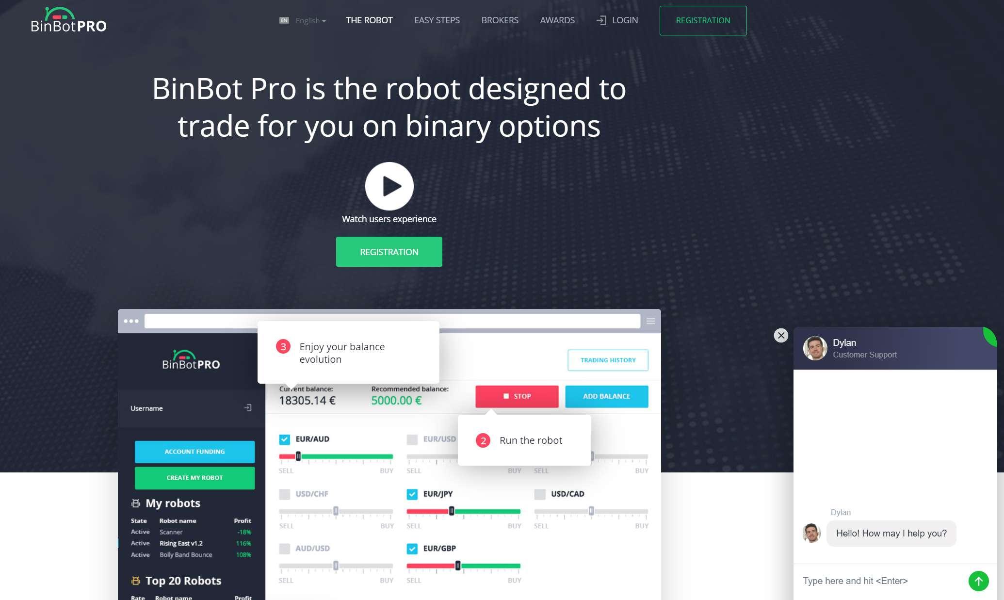 Bin Bot Pto – новый псевдоробот для развода на бинарных опционах и очередной лохотрон!