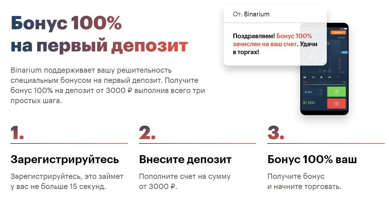Как зарабатывать на курсе криптовалюты с компанией Binarium.