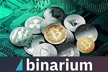 Как заработать на движении цен на криптовалюту с брокером бинарных опционов Бинариум.
