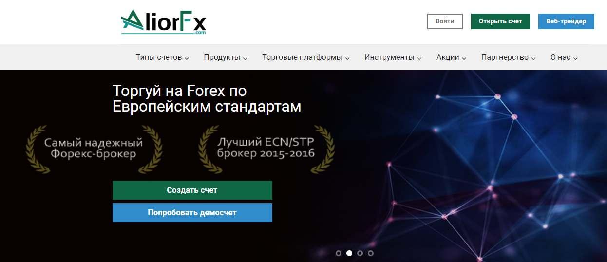 Обзор и отзывы на псевдоброкера - AliorFX. Наше мнение - опасность!