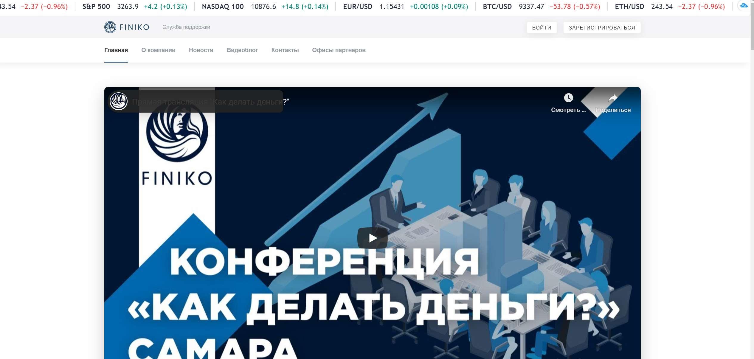 Проект Finiko – инвестиционный проект или хайп? Отзывы и обзор.