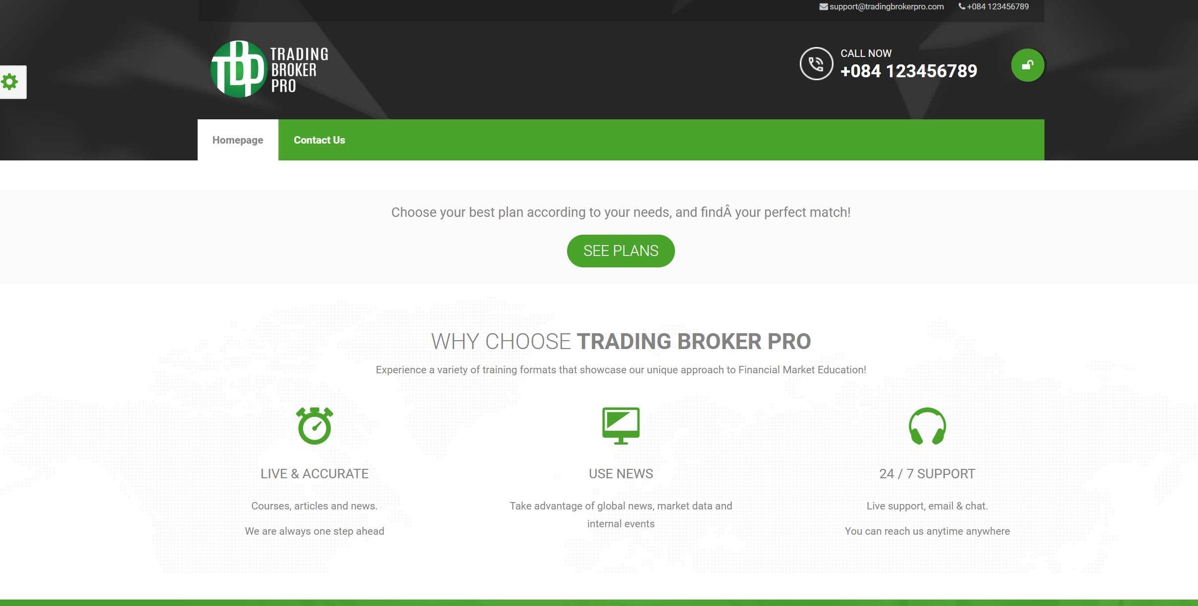 Компания TRADING BROKER PRO – брокер-лохотронщик. Краткий анализ обзор tradingbrokerpro.com