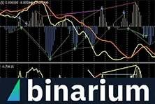 Индикатор Стохастик терминала Бинариум, его особенности, сигналы и точки входа