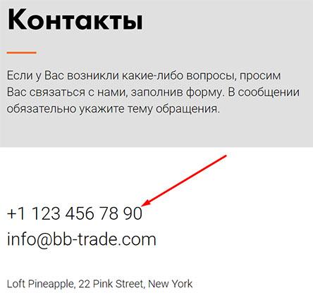 B&B Trade - фальшивые обещание и потеря все денег? Отзывы и обзор.