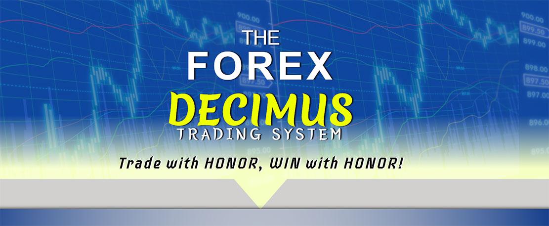 Обзор на торговую систему FOREX Decimus. Осторожно – это развод!