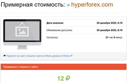 Hyper Forex - на финансовом рынке заработала новая банда жуликов? Отзывы и обзор.