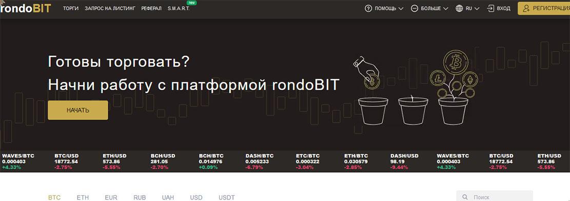RondoBIT - проект уже не работает но вдруг реинкарнация? Осторожно!