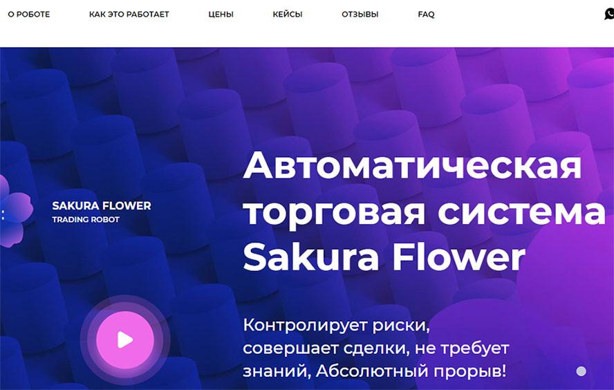 Sakura Flower - автоматическая торговая система, которая может стать причиной потери средств?