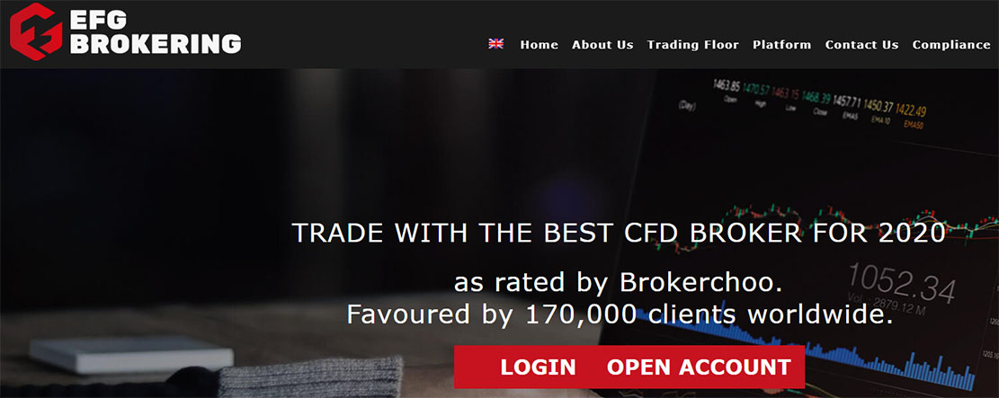 Обзор лживого брокера EFG Brokering. Опасный проект?
