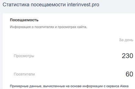 ИнтерИнвест (interinvest) – что это за проект? Стоит ли доверять? Отзывы и обзор.