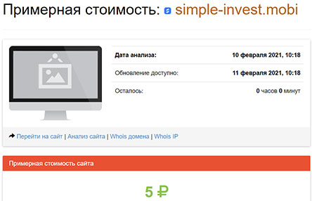 Simple Invest — отзывы о конторе. Опасен ли проект или кристальная честность?