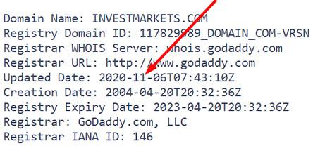 InvestMarkets – лохоброкер созданный мошенниками и опасный для трейдеров? Отзывы.