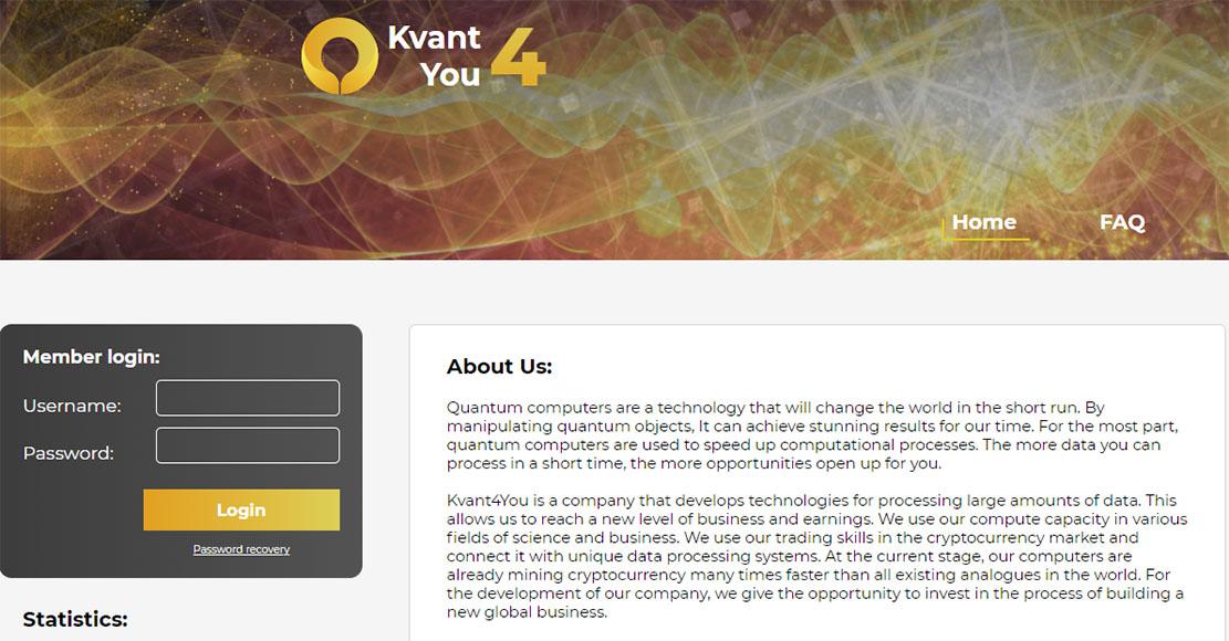 Kvant4you – Низкодоходный хайп. Сколько времени он ещё просуществует? Реальные отзывы клиентов о проекте