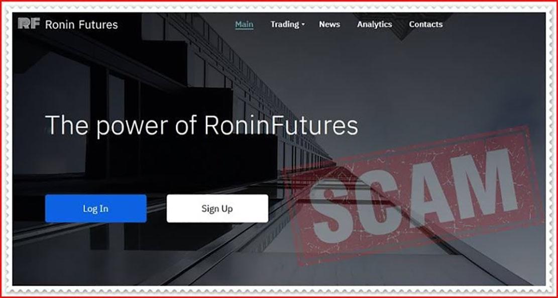 Ronin Futures — новый проект от старых мошенников?