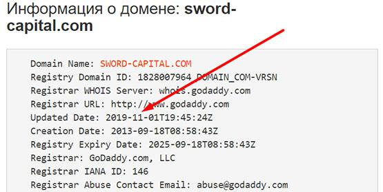 Обзор проекта Sword Capital. Есть опасность сотрудничества и возможно развод. Отзывы.
