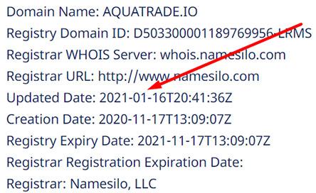Aquatrade - брокер даже без телефона обратной связи? Точно развод? Отзывы.