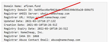 Обзор мошеннического проекта в сети интернет afinam.fund.