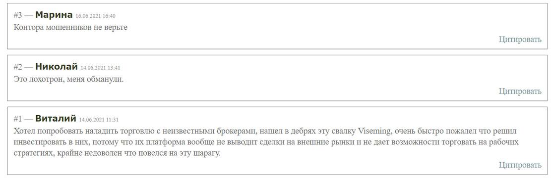 Обзор заморского проекта Viseming.com. Можно ли довериться? Отзывы.
