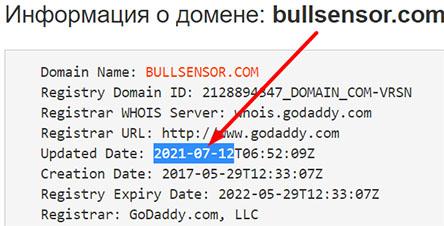 BullSensor – старые мошенники в новом обличии? Отзывы.